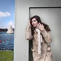 Nederland, Amsterdam , 20 april 2010..De Argentijnse sopraan Luciana Cueto..Argentine soprano Luciana Cueto.