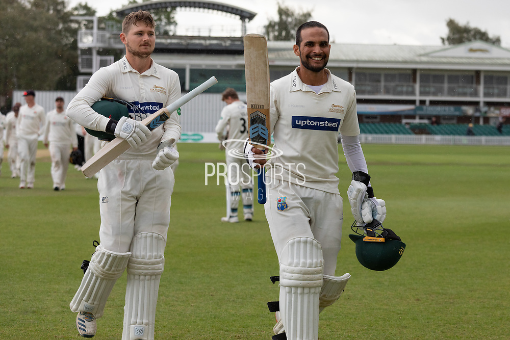during the Specsavers County Champ Div 2 match between Leicestershire County Cricket Club and Lancashire County Cricket Club at the Fischer County Ground, Grace Road, Leicester, United Kingdom on 26 September 2019.
