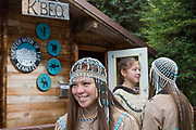 K'BEQ - The Sovereign Nation of The Kenaitze<br /> <br /> Julianne Wilson, 19, is of Dena&rsquo;ina Athabaskan descent and lives in Kenai. <br /> <br /> Photographer: Christina Sjogren<br /> <br /> Copyright 2018, All Rights Reserved