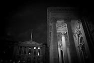 London. UK. the bank of england. bank , the main sqaure of the city financial district / la banque d angleterre; bank , la place principale du quartier financier de la city