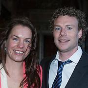 NLD/Amsterdam//20140325 - Schaatsgala 2013, Diana Valkenburg en partner