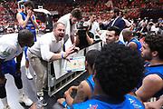 Diana Andrea time out Brescia, EA7 EMPORIO ARMANI OLIMPIA MILANO vs  GERMANI BASKET BRESCIA, gara 2 Semifinale Play off Lega Basket Serie A 2017/2018, Mediolanum Forum Assago (MI) 26 maggio 2018 - FOTO: Bertani/Ciamillo