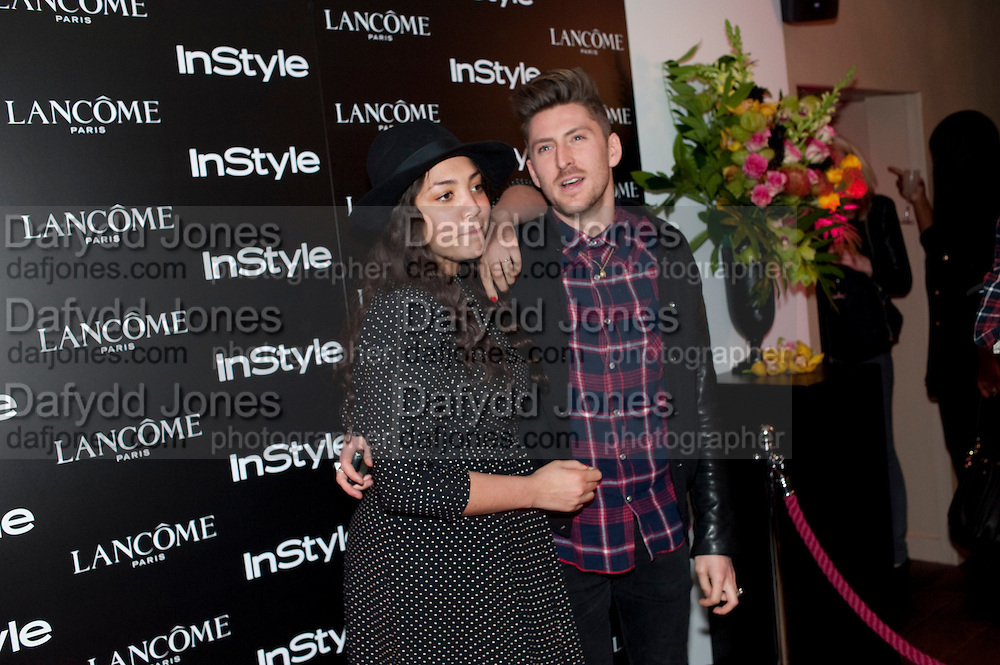 MIQUITA OLIVER; HENRY HOLLAND, InStyle's Best Of British Talent Party in association with Lancome. Shoreditch HouseLondon. 25 January 2011, -DO NOT ARCHIVE-© Copyright Photograph by Dafydd Jones. 248 Clapham Rd. London SW9 0PZ. Tel 0207 820 0771. www.dafjones.com.