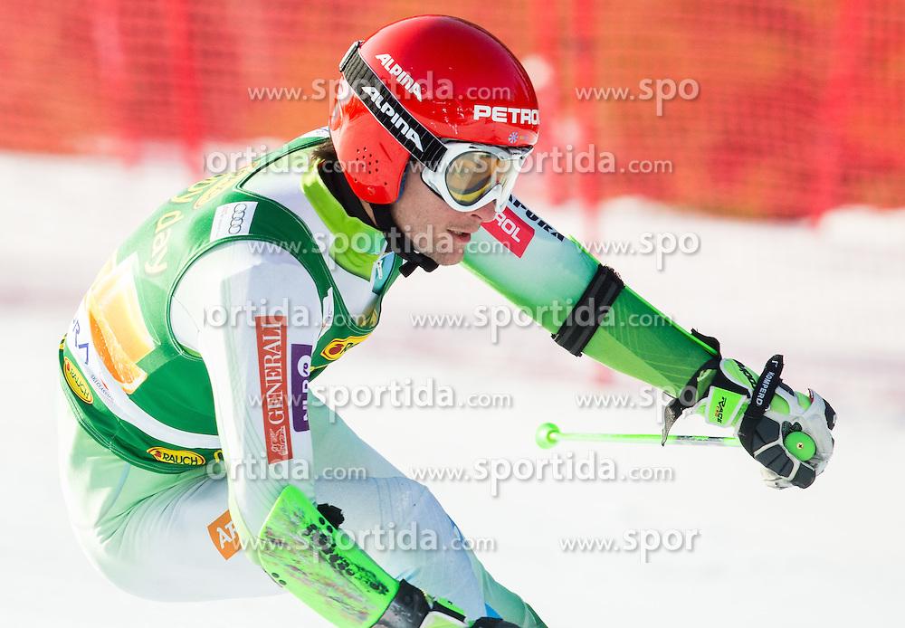 ZERAK Misel of Slovenia competes in 1st Run during Men Giant Slalom race of FIS Alpine Ski World Cup 54th Vitranc Cup 2015, on March 14, 2015 in Kranjska Gora, Slovenia. Photo by Vid Ponikvar / Sportida