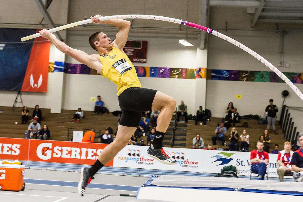 USATF Indoor Track & Field Championships: mens heptathlon pole vault, Austin Bahner
