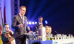 04.03.2017, AUT, FPÖ, 32. Ordentlicher Bundesparteitag, im Bild Bundesparteiobmann Heinz Christian Strache //  at the 32nd Ordinary Party Convention of the Freiheitliche Partei Oesterreich (FPÖ) in Klagenfurt, Austria on 2017/03/04. EXPA Pictures © 2017, PhotoCredit: EXPA/ Wolgang Jannach