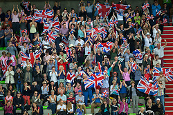 Supporters GBR - Grand Prix Team Competition Dressage - Alltech FEI World Equestrian Games™ 2014 - Normandy, France.<br /> © Hippo Foto Team - Leanjo de Koster<br /> 25/06/14