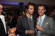 MARK-FRANCIS VANDELLI; ROBERT SHEFFIELD, The Gentleman's Journal Autumn Party, in partnership with Gieves and Hawkes- No. 1 Savile Row London. 3 October 2013
