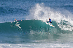 October 12, 2017 - Michel Bourez of Tahiti will surf in Round Two of the 2017 Quiksilver Pro France after placing third in Heat 9 of Round One at Hossegor. (Credit Image: © WSL via ZUMA Press)
