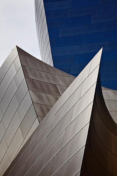 Walt Disney Concert Hall exterior.