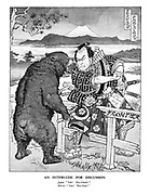 "An Interlude for Discussion. Japan. ""Yah! Pro-Chink!"" Russia. ""Yah! Pro-Nazi!"""