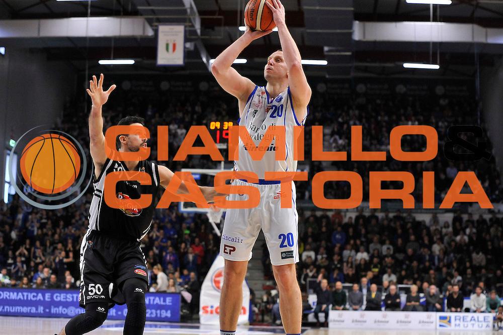 SASSARI 08 Gennaio 2017<br /> Banco di Sardegna Dinamo Sassari - Pasta Reggia Juve Caserta<br /> NELLA FOTO Dusko Savanovic<br /> FOTO CIAMILLO