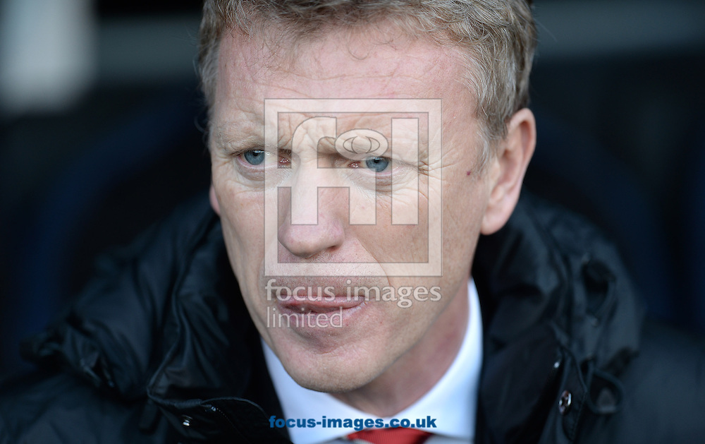 Picture by Andrew Timms/Focus Images Ltd +44 7917 236526<br /> 02/11/2013<br /> Manager of Manchester United David Moyes during the Barclays Premier League match against Fulham at Craven Cottage, London.