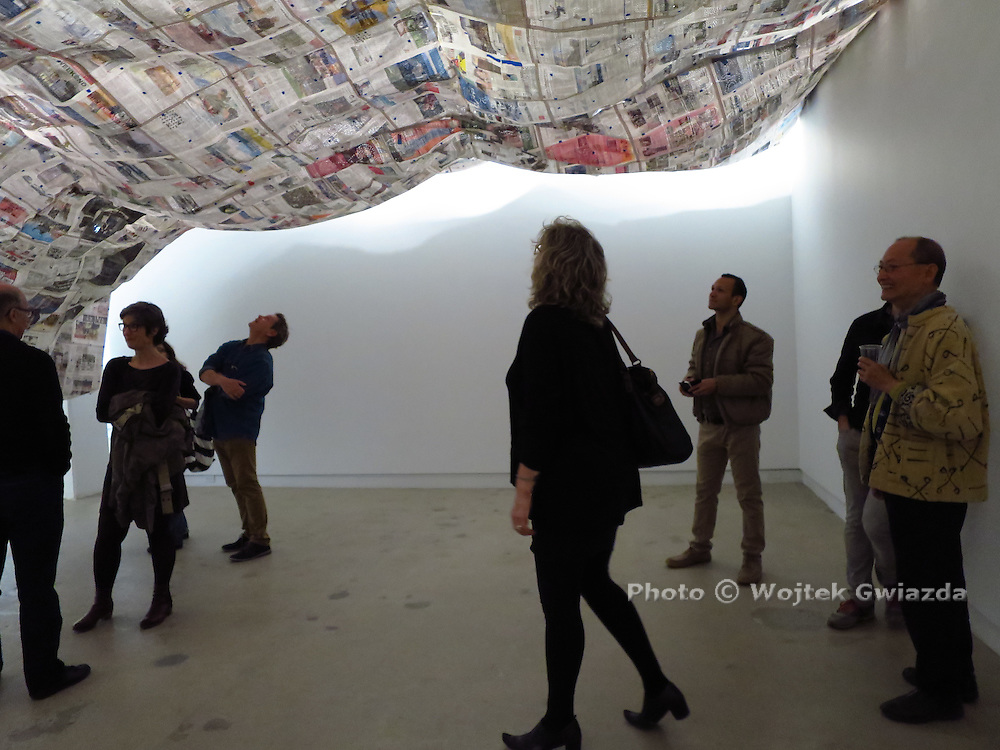 Toronto-based artist Kai Chan's opening/vernissage of 'Starry Night' was at Montreal's Diagonale Centre D'artistes on May 21, 2015. His show continues until June 20.<br /> http://www.artdiagonale.org/<br /> http://www.kaichan.ca