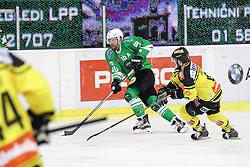 Anze Ropret of Olimpija during ice hockey match between HDD Olimpija Ljubljana and Vienna Capitals in EBEL league, on November 18, 2016 in Hala Tivoli, Ljubljana, Slovenia. Photo by Morgan Kristan / Sportida