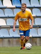 FODBOLD: Rasmus Lander (Ølstykke FC) under kampen i Serie 1 mellem Ølstykke FC og Brede IF den 3. juni 2017 på Ølstykke Stadion. Foto: Claus Birch