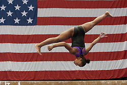 USA Gymnastics GK Classic - Schottenstein Center, Columbus, OH - July 28th, 2018. Shilese Jones during warmups, competes on the beam  at the Schottenstein Center in Columbus, OH; in the USA Gymnastics GK Classic in the senior division. Simone Biles won the allround with Riley McCusker second and Morgan Hurd third. - Photo by Wally Nell/ZUMA Press