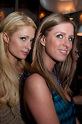 PARIS HILTON; NICKY HILTON, Dom PŽrignon with Alex Dellal, Stavros Niarchos, and Vito Schnabel celebrate Dom PŽrignon Luminous. W Hotel Miami Beach. Opening of Miami Art Basel 2011, Miami Beach. 1 December 2011. .<br /> PARIS HILTON; NICKY HILTON, Dom Pérignon with Alex Dellal, Stavros Niarchos, and Vito Schnabel celebrate Dom Pérignon Luminous. W Hotel Miami Beach. Opening of Miami Art Basel 2011, Miami Beach. 1 December 2011. .