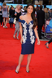 Image ©Licensed to i-Images Picture Agency. 12/08/2014. London, United Kingdom. <br /> Casey Batchelor attends the What If - UK film premiere. Leicester Square. Picture by Chris Joseph / i-Images