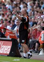 Photo: Olly Greenwood.<br />Charlton Athletic v New Zealand. Pre Season Friendly. 05/08/2006. Charlton manager Iain Dowie