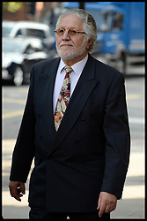 Former Radio One DJ Dave Lee Travis arriving at Westminster Magistrates Court in London, Friday, 23rd August 2013. Picture by Andrew Parsons / i-Images