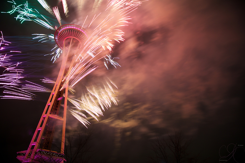 An awesome spectacle to ring in the New Year right!