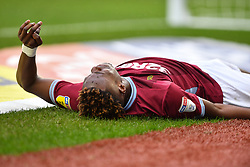 March 16, 2019 - Birmingham, England, United Kingdom - Tammy Abraham (18) of Aston Villa suffers an injury during the Sky Bet Championship match between Aston Villa and Middlesbrough at Villa Park, Birmingham on Saturday 16th March 2019. (Credit Image: © Mi News/NurPhoto via ZUMA Press)