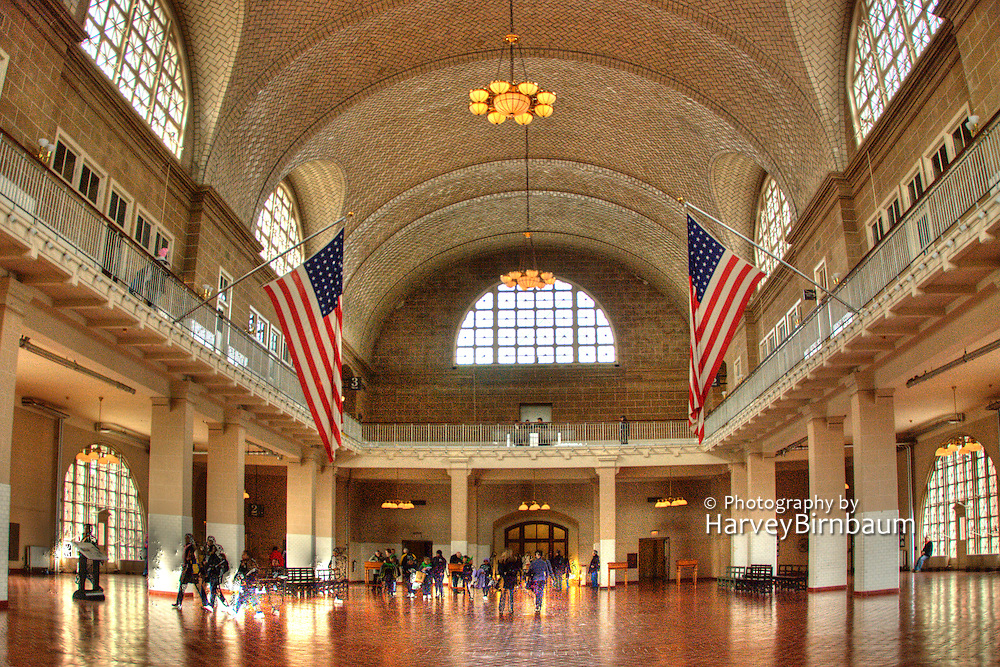 Ellis Island, Great Hall, New York