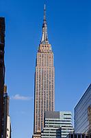 Empire state building  Manhattan Landmarks in New York City USA