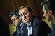 Conferencia de prensa del Senador Leonardo De Leon