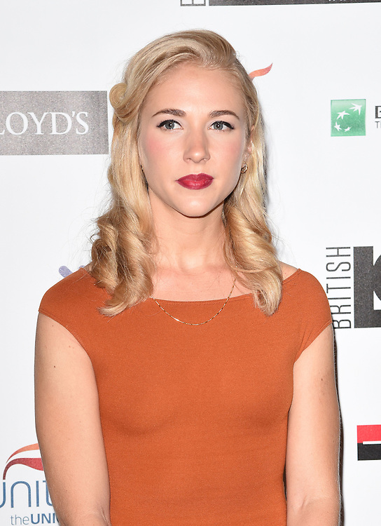 Maddy Hill attends The British LGBT Awards at The Landmark Hotel, London on Friday 24 April 2015