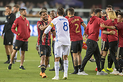 September 19, 2018 - San Jose, California, United States - San Jose, CA - Wednesday September 19, 2018: Josef Martinez, Chris Wondolowski during a Major League Soccer (MLS) match between the San Jose Earthquakes and Atlanta United FC at Avaya Stadium. (Credit Image: © Lyndsay Radnedge/ISIPhotos via ZUMA Wire)