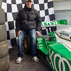 Dario Franchitti called into the final day of the Scottish Motor Racing Club at Knockhill Racing Circuit. (c) Jimmy Rodden | StockPix.eu
