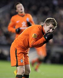 11.03.2010, Estadio Mestalla, Valencia, ESP, UEFA Europa League, FC Valencia vs Werder Bremen, im Bild Marko Marin ( Werder   #10 ), EXPA Pictures © 2010, PhotoCredit: EXPA/ Alterphotos/  Miguel Angel Acero / SPORTIDA PHOTO AGENCY
