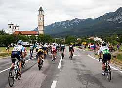 Peloton in Budanje during 4th Stage of 26th Tour of Slovenia 2019 cycling race between Nova Gorica and Ajdovscina (153,9 km), on June 22, 2019 in Slovenia. Photo by Vid Ponikvar / Sportida