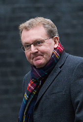 Downing Street, London, February 11th 2016. Scotland Secretary David Mundell attends the weekly cabinet meeting. <br /> &copy;Paul Davey<br /> FOR LICENCING CONTACT: Paul Davey +44 (0) 7966 016 296 paul@pauldaveycreative.co.uk