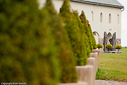 Former Cistercian abbey in Poland photography by Piotr Gesicki