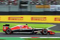 Jules Bianchi (FRA) Marussia F1 Team MR03.<br /> Japanese Grand Prix, Friday 3rd October 2014. Suzuka, Japan.