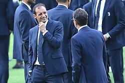 August 12, 2017 - Rome, Italy - Head coach Massimiliano Allegri during the Juventus Walk Around ahead of the Italian Supercup at Olimpico Stadium on August 12, 2017 in Rome, Italy. (Credit Image: © Matteo Ciambelli/NurPhoto via ZUMA Press)