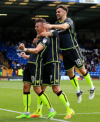 Billy Bodin of Bristol Rovers celebrates after scoring his sides third goal  - Mandatory by-line: Matt McNulty/JMP - 19/08/2017 - FOOTBALL - Gigg Lane - Bury, England - Bury v Bristol Rovers - Sky Bet League One