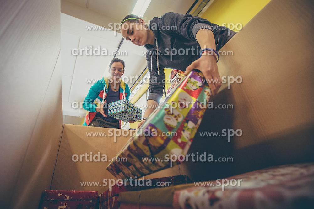 Humanitarian project for kids from socially disadvantaged families Bozicek za en dan, Slovenia, 12-14 December 2015. Photo By Grega Valancic / Sportida