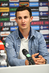 Foto Filippo Rubin/LaPresse <br /> 09 maggio 2019 Bologna (Italia)<br /> Sport Ciclismo<br /> Giro d'Italia 2019 - edizione 102 - Conferenza Stampa Team.<br /> Nella foto: AG2R.VUILLERMOZ Alexis<br /> Photo Filippo Rubin/LaPresse<br /> May 09, 2019  Bologna (Italy)  <br /> Sport Cycling<br /> Giro d'Italia 2019 - 102th edition - Team Press Conference .<br /> In the pic: AG2R.VUILLERMOZ Alexis