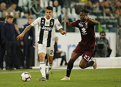 May 3, 2019 - Turin, ITA, Italy - Joo Cancelo during Serie A match between Juventus v Torino, in Turin, on May 3, 2019  (Credit Image: © Loris Roselli/NurPhoto via ZUMA Press)