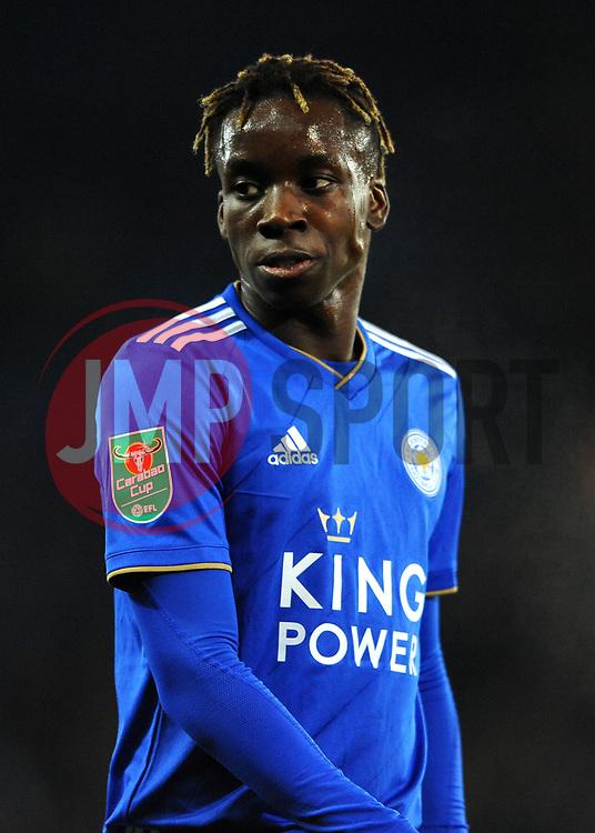Fousseni Diabate of Leicester City - Mandatory by-line: Nizaam Jones/JMP- 27/11/2018- FOOTBALL - King Power Stadium- Leicester, England - Leicester City v Southampton - Carabao Cup