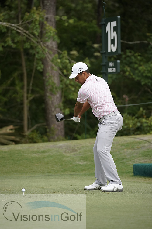 Xander Schauffele<br /> On the final day