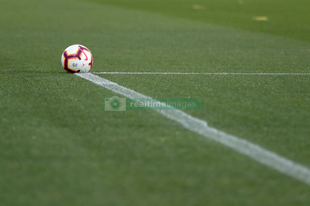 September 26, 2018 - Nike ball of the match during the La Liga (Spanish Championship) football match between CD Leganes and FC Barcelona on September 26th, 2018 at Municipal Butarque stadium in Madrid, Spain. (Credit Image: © AFP7 via ZUMA Wire)