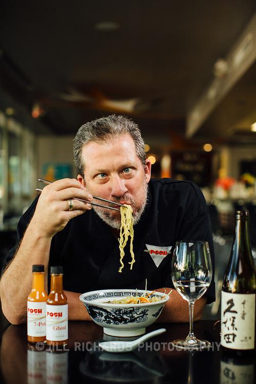 Josh Hebert of Posh Restaurant, located at 7167 E Rancho Vista Dr #111, Scottsdale, AZ 85251.