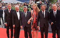 at the gala screening for the film Francofonia at the 72nd Venice Film Festival, Friday September 4th 2015, Venice Lido, Italy.