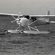 NLD/Huizen/19910525 - Waterspektakel Huizen 1991, watervliegtuig P4-WET