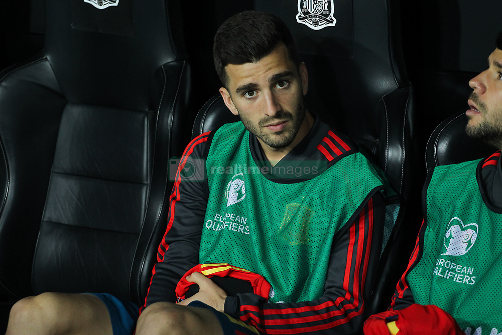 March 23, 2019 - Valencia, Valencia, Spain - Gaya of Spain in action during European Qualifiers championship, , football match between Spain and Norway, March 23th, in Mestalla Stadium in Valencia, Spain. (Credit Image: © AFP7 via ZUMA Wire)